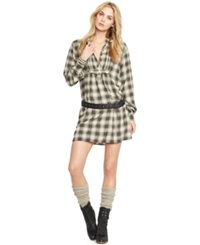 Denim And Supply Ralph Lauren Plaid Shirtdress Plaid Multi