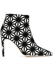Dsquared2 Japanese Star Knit Booties Black
