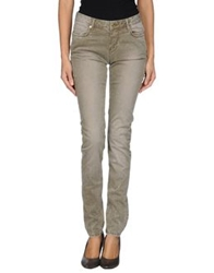 Fracomina Casual Pants Military Green