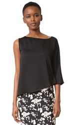 Zero Maria Cornejo Circle Top Shiny Black