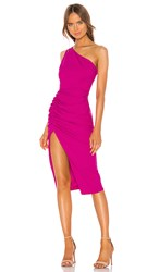 Katie May New Age Dress In Pink. Electric Pink