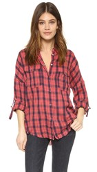 Iro.Jeans Kirby Button Down Shirt Red