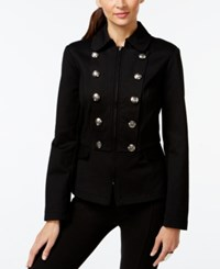 Inc International Concepts Zippered Military Jacket Only At Macy's