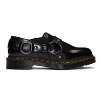 Dr. Martens Black Gilbey Buckle Loafers