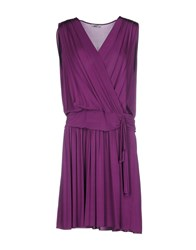 Ajay Short Dresses Mauve