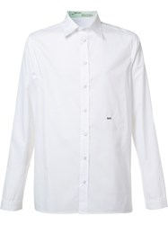 Off White Scorpion Back Print Shirt White