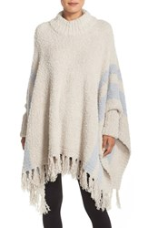 Women's Barefoot Dreams 'Cozy Chic Beach' Fringe Lounge Poncho