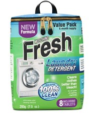Moschino Laundry Detergent Backpack 60