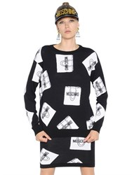Moschino Shopping Bags Wool Sweater