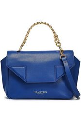 Halston Heritage Woman Leather Shoulder Bag Royal Blue