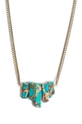 Janna Conner Vivek Turquoise Jasper Necklace No Color