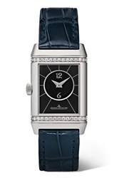 Jaeger Lecoultre Reverso Classic Duetto 21Mm Small Stainless Steel Silver