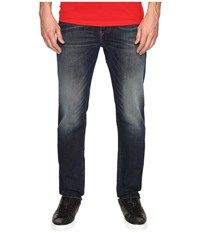 Diesel Buster Slim Straight Jeans 0857Y Denim Men's Jeans Blue