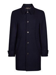Aquascutum London Men's Logan Coat Navy