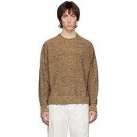Christophe Lemaire Brown Crewneck Sweater