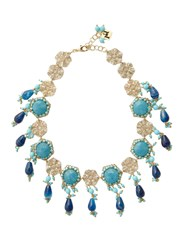Rosantica By Michela Panero Corte Beaded Necklace Blue