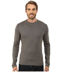 Royal Robbins Quebec Crew Sweater Pewter Men's Sweater