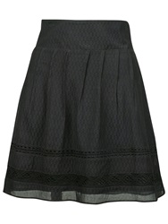 Fat Face Matilda Lace Trim Skirt Phantom