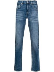7 For All Mankind Slimmy Mid Rise Tapered Jeans 60
