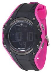 Tom Tailor Digital Watch Schwarz Pink Black