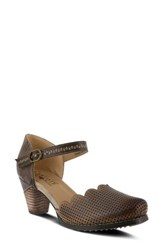 L Artiste Women's L'artiste Parchelle Pump Gray Leather