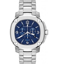 Burberry Bby1104 The Britain Stainless Steel Watch Blue