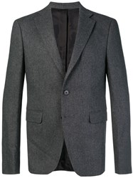 Zadig And Voltaire Classic Fitted Blazer Grey