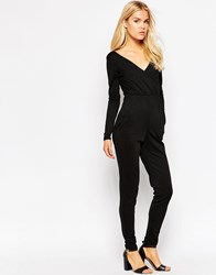 Oh My Love Tailored Jumpsuit Black