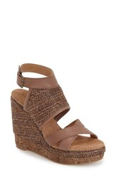 Women's Very Volatile 'Keenan' Sandal Brown Fabric
