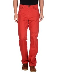 Avirex Casual Pants Red