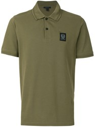 Belstaff Stannett Polo Shirt Cotton Green