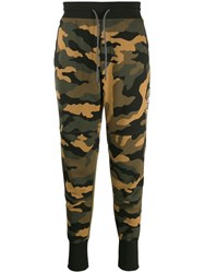 The North Face Camouflage Track Pants Green
