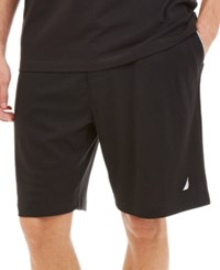 Nautica Knit Pajama Shorts True Black