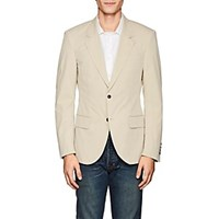 Zadig And Voltaire Vlad Wool Two Button Sportcoat Beige Tan