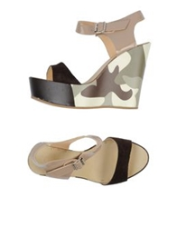 Rosamunda Sandals Dark Brown