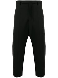 Rick Owens Tonal Side Stripe Suit Trousers 60