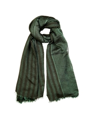Haider Ackermann Striped Silk Blend Scarf
