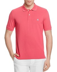 Brooks Brothers Performance Slim Fit Polo Shirt Carmine Pink