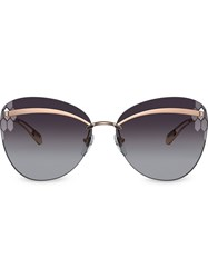 Bulgari Bvlgari Serpenti Flyingscale Butterfly Sunglasses 60