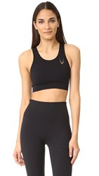 Lucas Hugh Core Technical Knit Classic Sports Bra Black