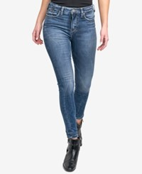 Silver Jeans Co. Robson High Waist Jeggings Indigo