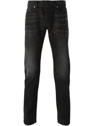 Roberto Cavalli Stonewashed Classic Jeans Black