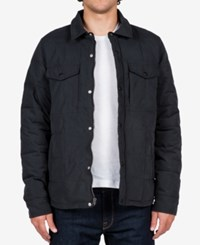 Volcom Men's Fleming Quilted Jacket Black