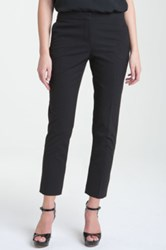 Vince Camuto Skinny Ankle Pants Petite Black