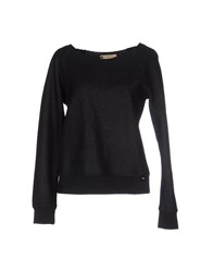 Met And Friends Topwear Sweatshirts Women Black