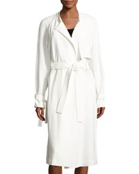 A.L.C. Augusto Belted Trenchcoat Eggshell