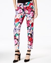 Xoxo Juniors' Natalie Floral Print Ankle Pants Multi