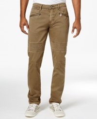 Guess Men's Cargo Pants Dark Olive Multi