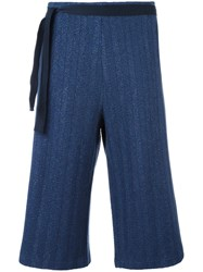 Humanoid 'Ranger' Cropped Trousers Blue