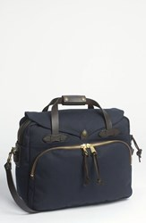 Filson Men's Padded Laptop Bag Blue Navy